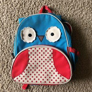 Owl backpack skip hop